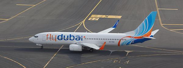 Select Flydubai flights to operate from Dubai Inte