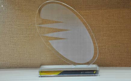 Majan Travel received Blue Award from Jet Airways