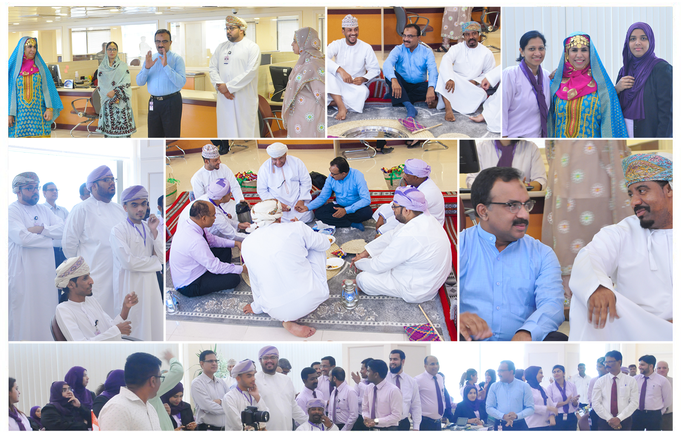 Team Majan celebrated the 48th Oman Renaissance Da